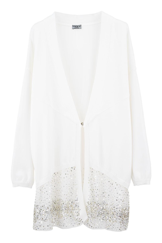 NEW $388 ITALIAN DESIGNER Plus Size Women Sequin Cardigan Coat ...