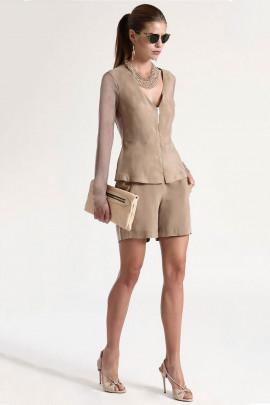 Siste's Cupro Colotte Shorts