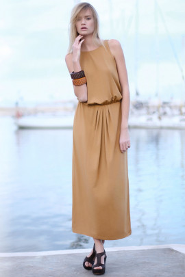Effortless Comfort Jersey Maxi Dress