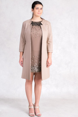 More by Siste's Gorgeous Long Jacket in Brown