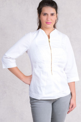 Lovely Detailed Designer Cotton Blouse