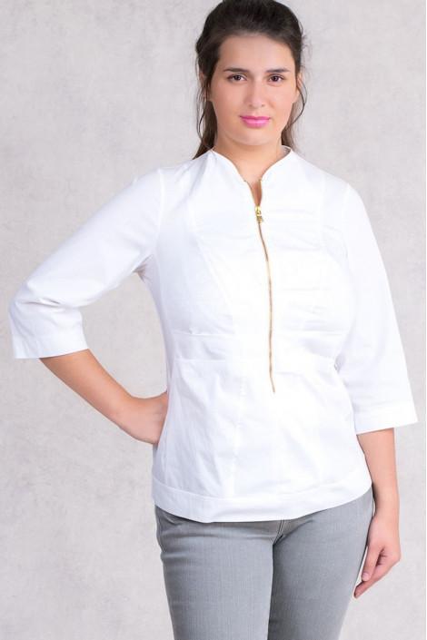 Lovely Detailed Designer Cotton Blouse