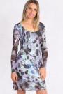 Juliette Straps Decorated Low Back Dress