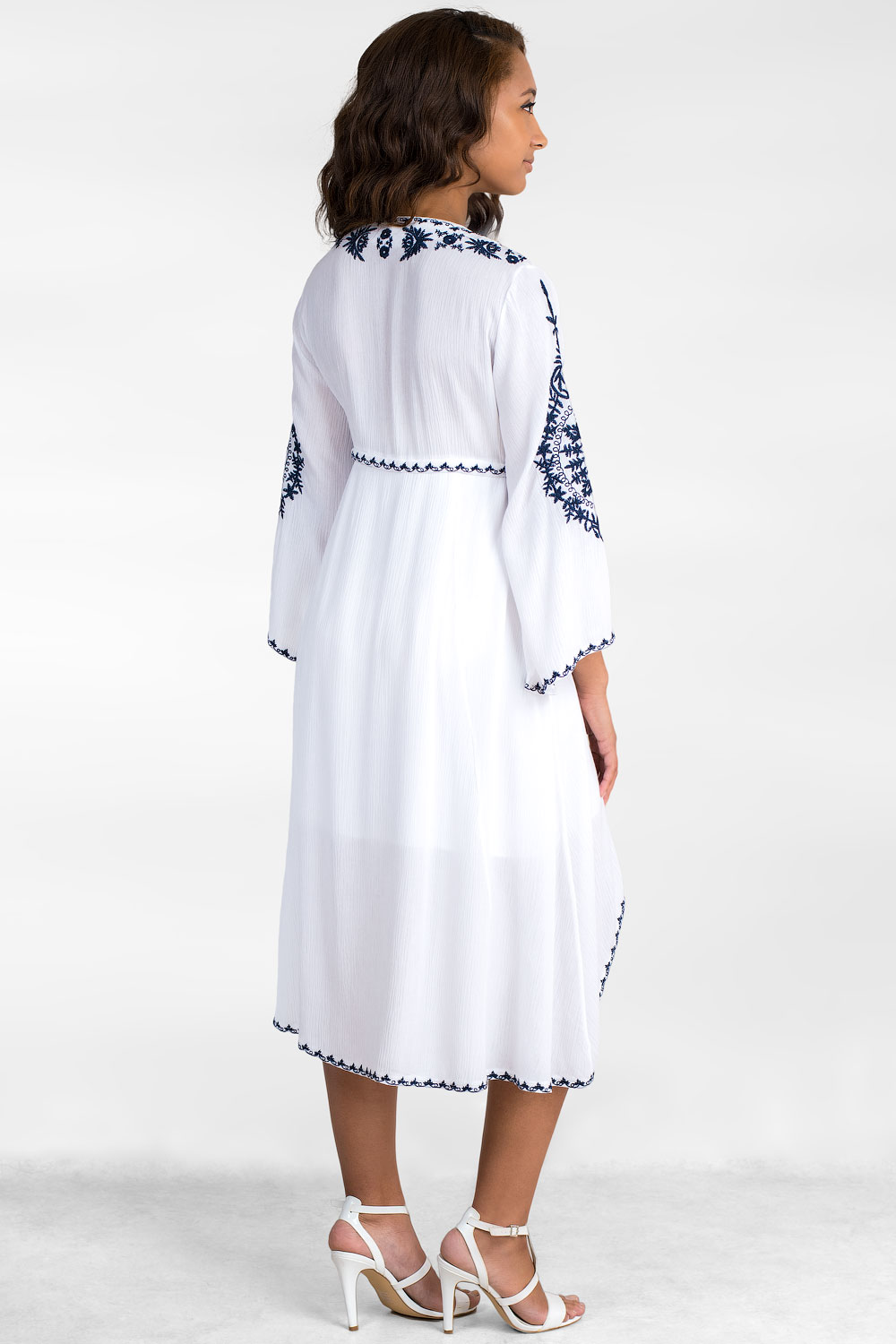 Love Summer Embroidered Cotton Tunic
