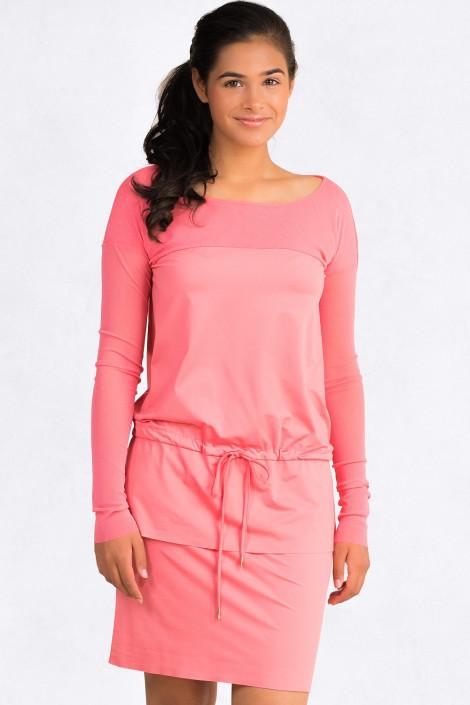 Always Bright Short Summer Mini Dress in Pink