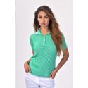 TENAX Yuppie Weekend Green T-shirt