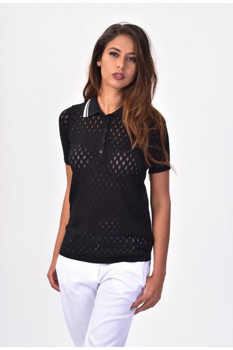 TENAX Yuppie Weekend Black T-shirt