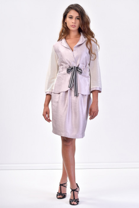 SISTE'S Romantic Style at Work Summer Suit