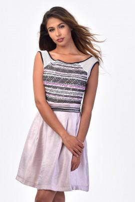 SISTE'S Romantic Style at Work Summer Dress
