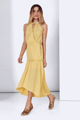 SISTE'S Long Summer Dress Breathing and Bright