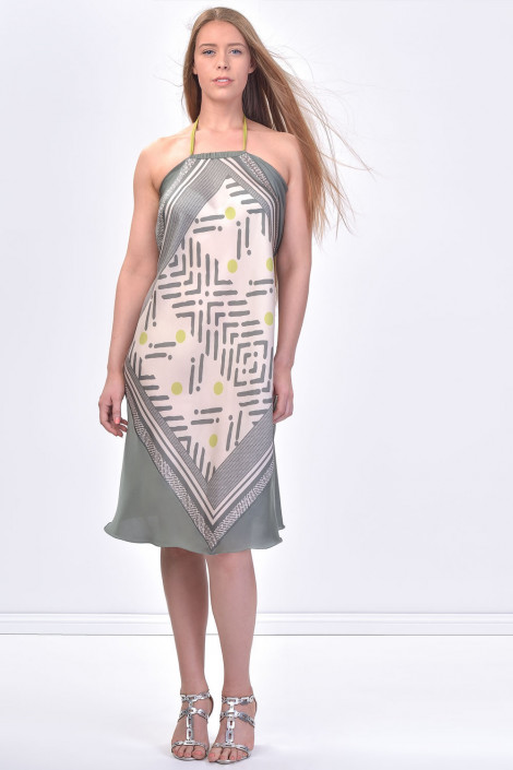 SISTE'S Halter Neck Summer Dress