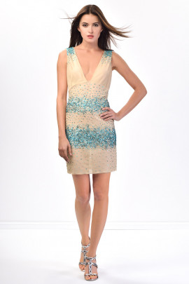 Attraction to Action Bodycon Sequinned Dress