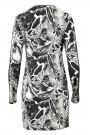 Bodycon Dress with Metal Embellishments