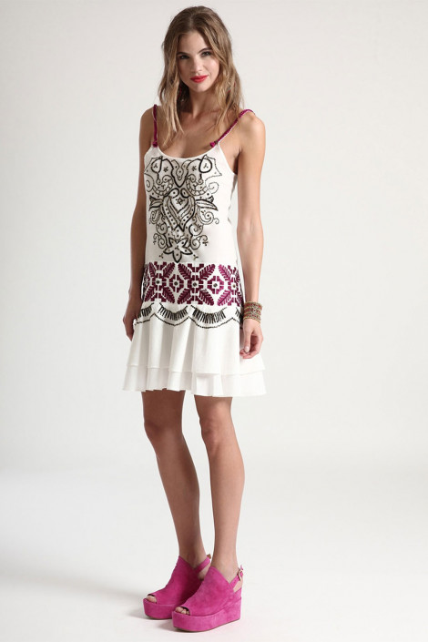 Designer's Embroidery Cotton Sundress