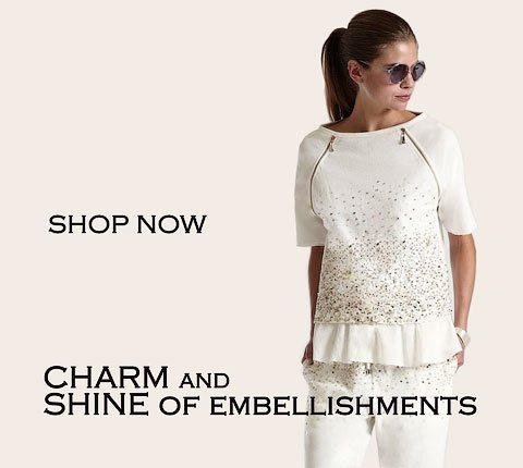 Dresses with embellishments